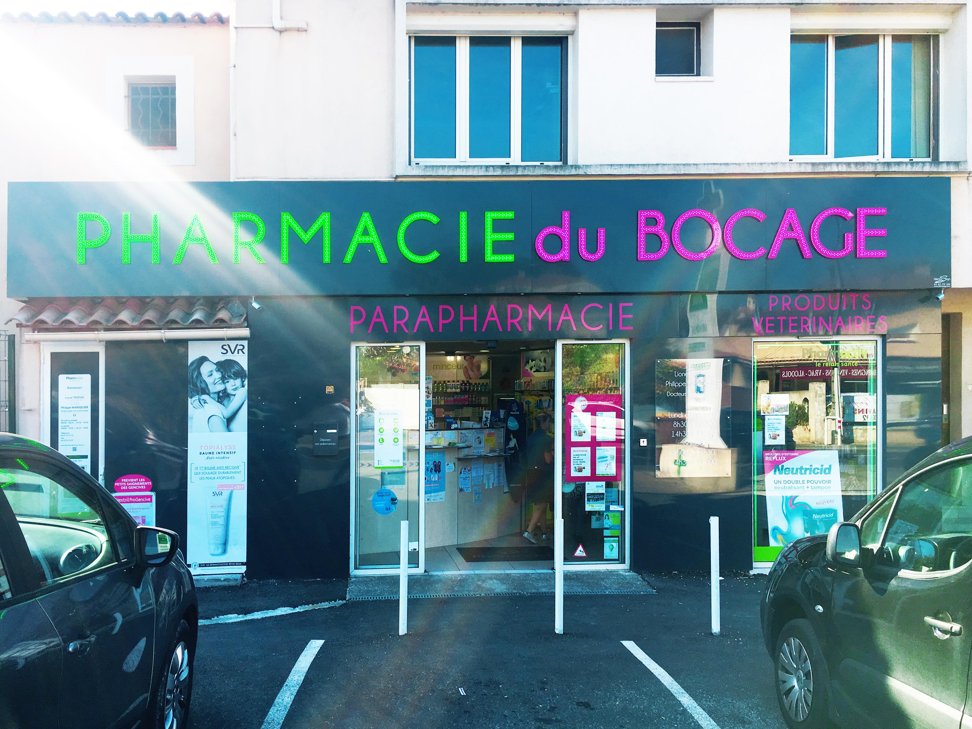 Photo de la devanture de Pharmacie Du Bocage